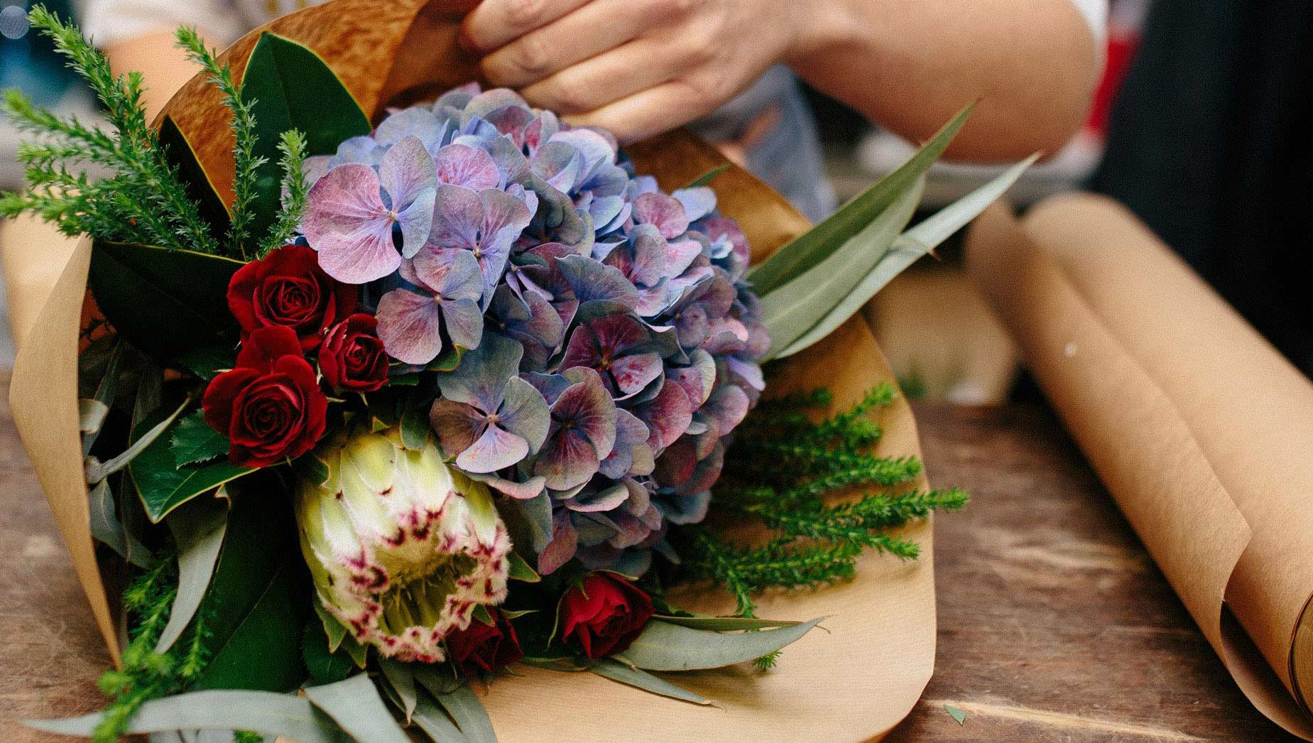 Singapore Florist Flower Delivery By Lush And Love Flower In Box