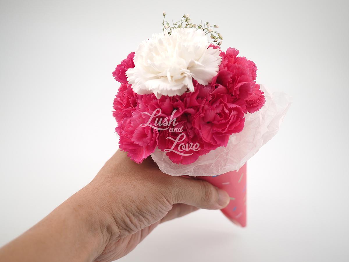 Mini Love Blooms Cone pink 2