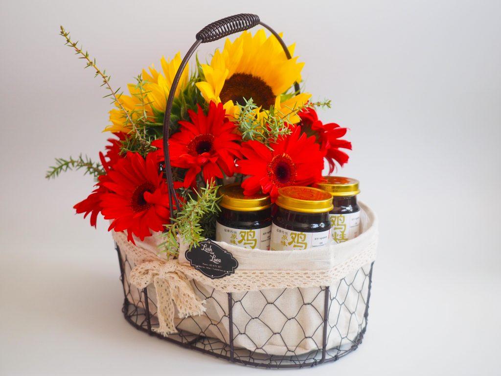 Get Well Soon Flower basket 2